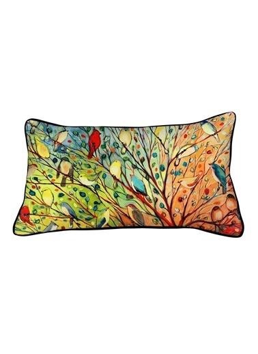 Otizm Vakfı Dekoratif Yastık Renkli
